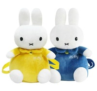 Super cute hot sale plush baby schoolbag backpack rabbit shaped birthday gift
