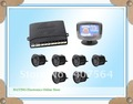 Free shipping Car LCD 6 Reverse Parking Sensors Backup Radar Kit