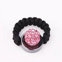 New Arrived Shamballa Crystal Ring, Wholesale Europe Style DIY Shamballa Ring  SR020