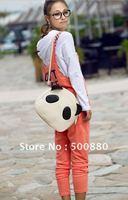 Wholesale - Hot Sale New Girl Student Shoulder Bag PU Leather Cute Panda Shoulder Bag Fashion