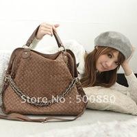 Wholesale - On sale Korean Hobo PU Leather Handbag Shoulder Bag Black Brown Coffee Fantastic Gorgeous