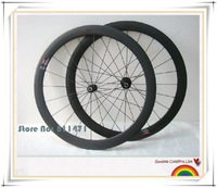 2012 hot light carbon bike wheels matte 50mm tubular 3k light with novatec A291SB F482SB