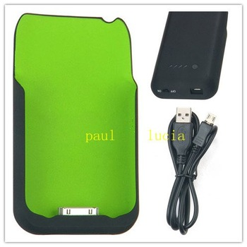 New 1800mAh Back Case External Backup Battery for iPhone 3G/3GS