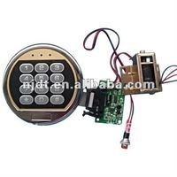 Electronic lock for safe gun cabinet lock