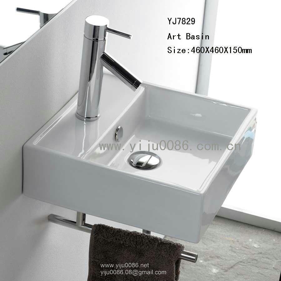 욕실 싱크 욕실 세면대 욕실 디자인 아이디어-에서 세라믹 위생 ...
