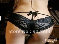 East Knitting FREE SHIPPING 50 pc/lot Lady lovely pants sexy briefs knickers Underpants underwear V T-back Lace shorts diamond