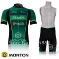 2012 EUROPCAR Team Short Sleeve Bike Wear Cycling Jersey Cycling Wear + Bib Shorts