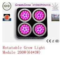 DHL free shipping Led Grow Light 240W with 80*3W=240W for home grow vege/medicine 3w chip,dropshipping