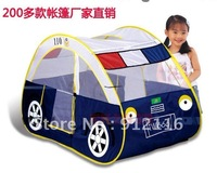 Free shipping Children Tent supper Large Police car Toy house Indoor Outdoor Game room.