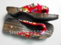 new fashion sandals flip flops casual shoes sandbeach shoes  japan geta 8-1 free shipping