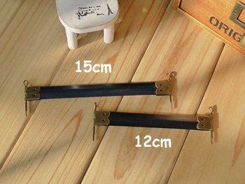 "Free Shipping! 15cm/5.9""  Metal Internal Flex Frames with Loops for Purses Handbags 30pcs N1077"