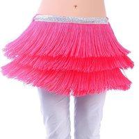 New Tribal Fringe Tassel Sequin belly dance hip scarf Belt 11 colours