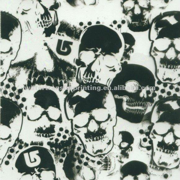 Skulls Pattern Water Transfer Printing Hydro Graphics Film width 100cm GWA9-
