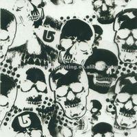 Skulls Pattern Water Transfer Printing Hydro Graphics Film width 100cm GWA9-1