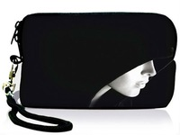 Hot Cool Girl Shape,Free Shipping,Neoprene Digital Camera Case Bag Sleeve Pouch Cover W Strap