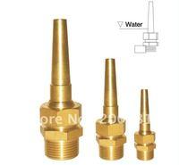 """1 1/2"""" Copper Nozzle  /  Universal Straight-Jetting Fountain Nozzle /  Adjustable Direct  Fountain Nozzle"""