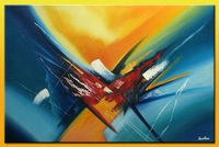 Free Shipping !! Modern Abstract  Wall Art  Handmade Oil  Painting On Canvas !! JYJDH008