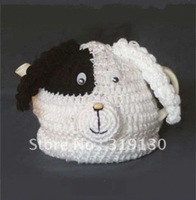 Free Shipping---Stylish Hand Made Knitted Cute Puppy Tea Cosy