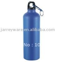 Aluminium sport bottle with carabiner 750ML