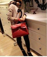 2012Hot Sale  British wind handbag  Popular OL business Lovely Ladies bow Bag free  shipping