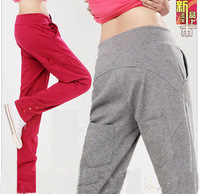 New Arrival 2012 skinny pants for women harem casual sports pants/Ladies Summer Red Pants Size:S-XXL, C057