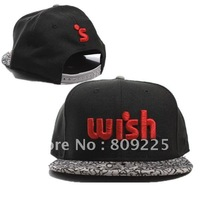 Hot sell WISH Cement Snapback Red hat the hundred black cap  wholesale cheap cap free shipping