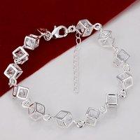 H241 Wholesale 925 Silver Bracelets Fashion Jewelry Prata pulseras designer new 2014 Innovative items