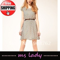 summer dress for women 2012 fashion ladies' dress free shipping HK airmail