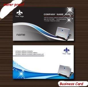 Free Shipping 260gsm Matt Coated Paper Business Card 1000