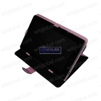"Black  Pink Brown Blue Magic Leather Case 8"" Sweex Yarvik TAB364 TAB360 Gotab Gravity MultiAngle"