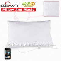 music pillow sound speaker pillow with polyester cover for iphone & ipad