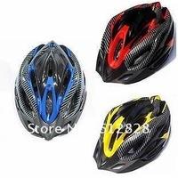 2012 new Mens Womens Adult Bicycle Cycling Carbon sport Helmet Bike Accessory 2pcs/lot