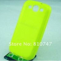 Free shipping 50pcs/lot Comfortable Bumpers For i9300 Galaxy SIII S3 cases frame TPU