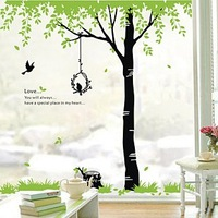 [Romantic vines]Removable Wall Sticker for Soft/Bedroom/Parlor/Study wall background
