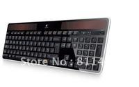 wholesale free shipping  100% brand  new ORIGINAL Wireless keyboard for Logitech  K750 solar energy