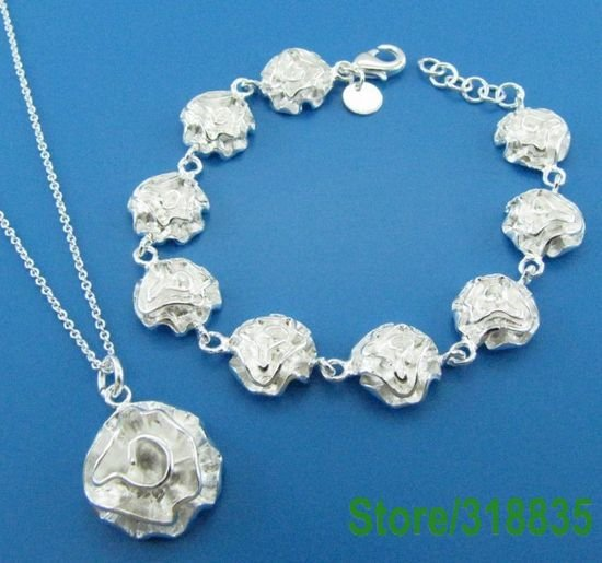 GY-PT289 fashion jewelry Factory Price wholesale fashion jewelry sets,925 sterling silver sets dreami lauzua(China (Mainland))
