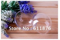 Free shipping 5cm clear plastic ball fillable ornaments hanging candy box Variety of specifications