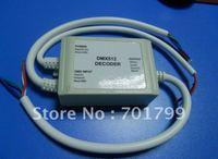 Waterproof DMX Decoder;DC12V input,max 4A*3channel output