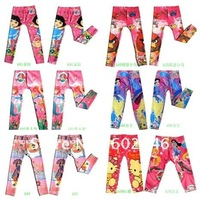 2014 new arrive!Popular new printing jeans / mercerized cotton cartoon pants cartoon clothes pants have more design free shippin