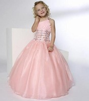 Christmas Pink Flower Girl Dress Girl Skirt Princess Skirt Party Skirt Pageant Skirt Custom SZ 2 4 6 8 10 12 14 JL708034
