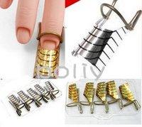 5 reusable forms uv gel acrylic nail art tips