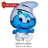 "Free Shipping, CT-005 Tinkerbell Cartoon Design Foil Ballon/ Party & Holiday Balloon- Heart Shape -18"", 50pcs/lot"