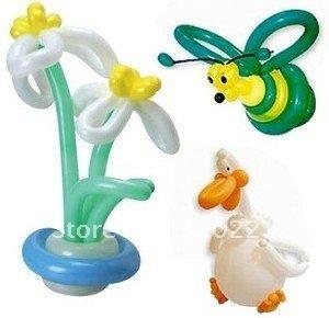 Free Shipping 100pcs/lots wholesales screw balloons /magic balloon/assorted color(China (Mainland))