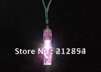 100pcs/lot  flash light-emitting luminous flaring gleamy LED whistles Kids children toy toys or for Concert gathering dance