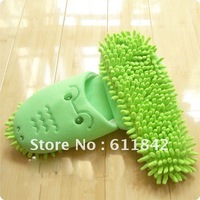 free shipping Cleaning floor indoor slippers Mops 2 colors