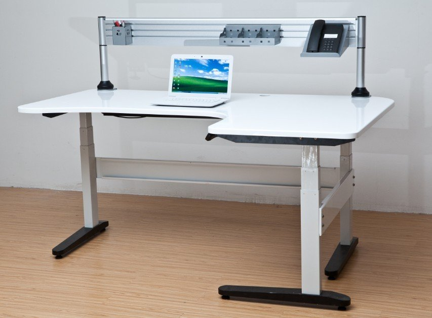height adjustable desk Picture - More Detailed Picture about electric