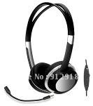 cheaper low price headset earphone earphone headset with mirco-phone with volume controll PH-322