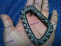 3pcs/lot Grimloc Carabiner D-Ring olive drab