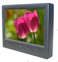 7 Inch customized desk type ad player+SD/CFcard+free shipping / Taxi TVs / Car video player / LCD display