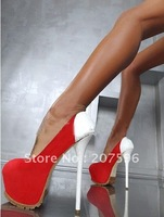 2012 Spell Color fashion sexy red suede leather party shoe, platform shoes, Pumps heel shoes wedding shoes